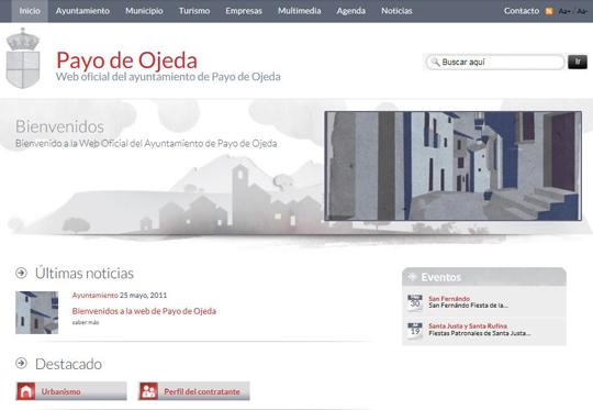 Bienvenidos a la web de Payo de Ojeda